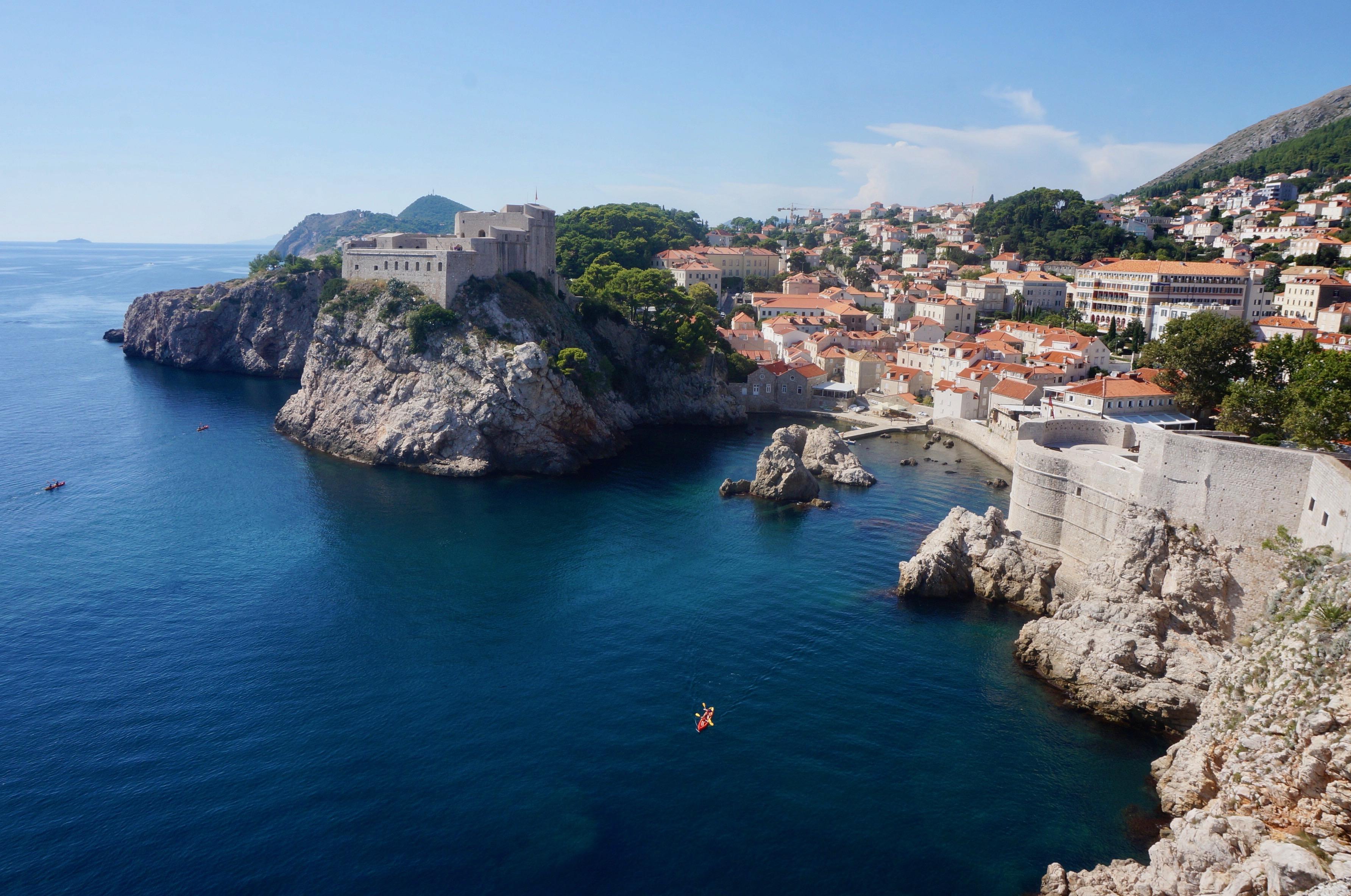 fort Lovrijenac, croatie