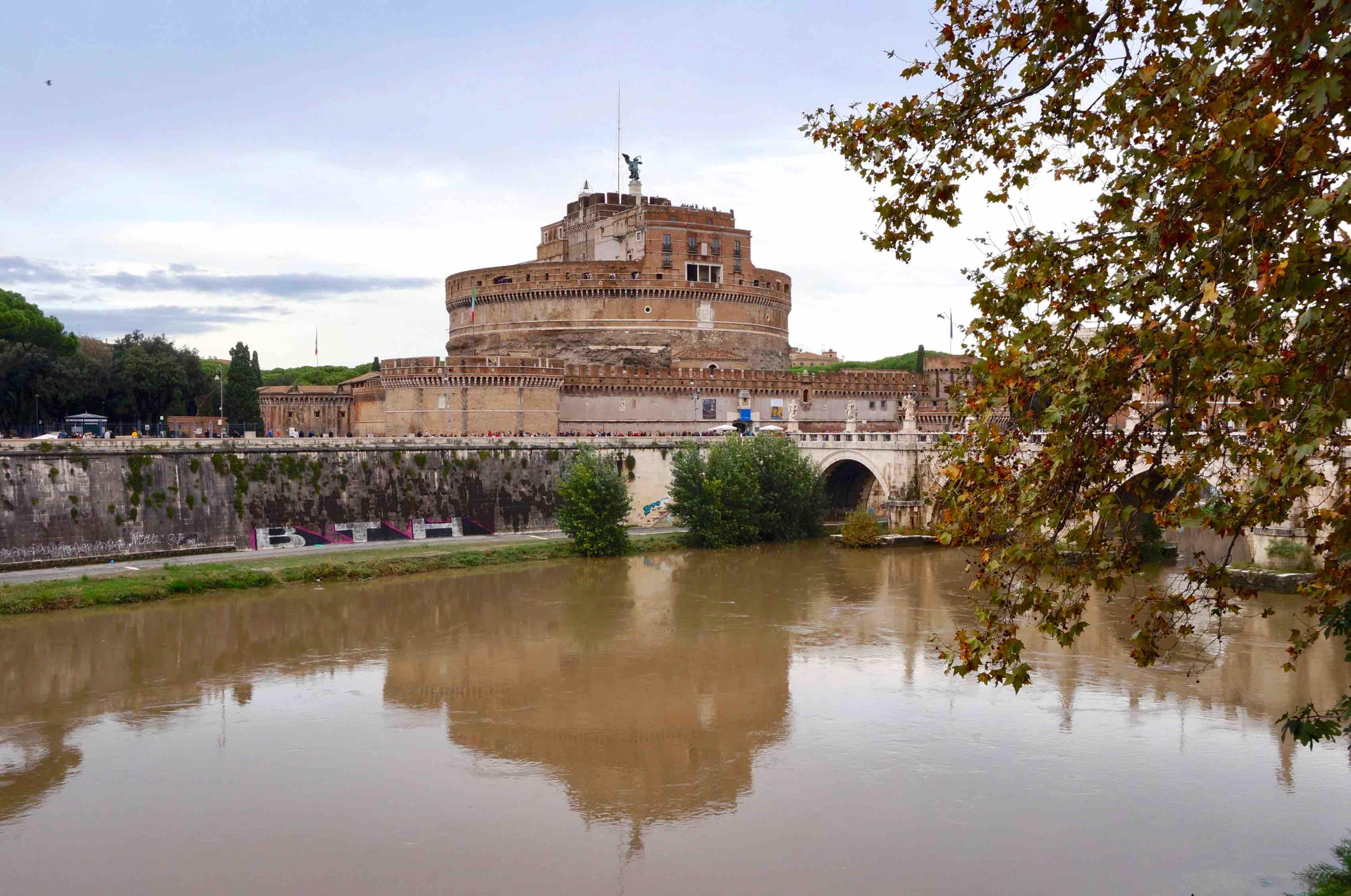 château Sant'Angelo, rome, italie