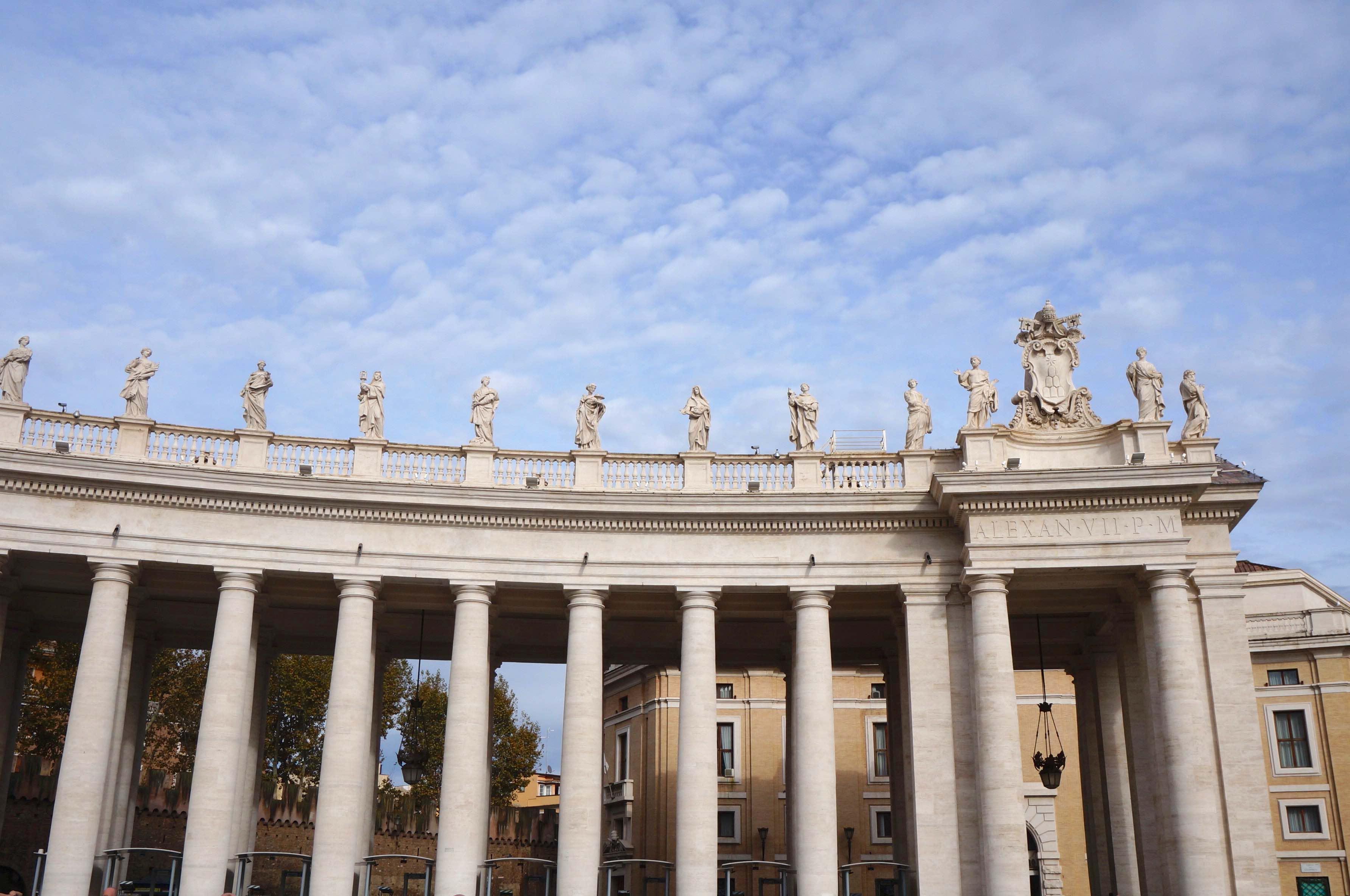 place Saint Pierre, cité du vatican, rome, italie