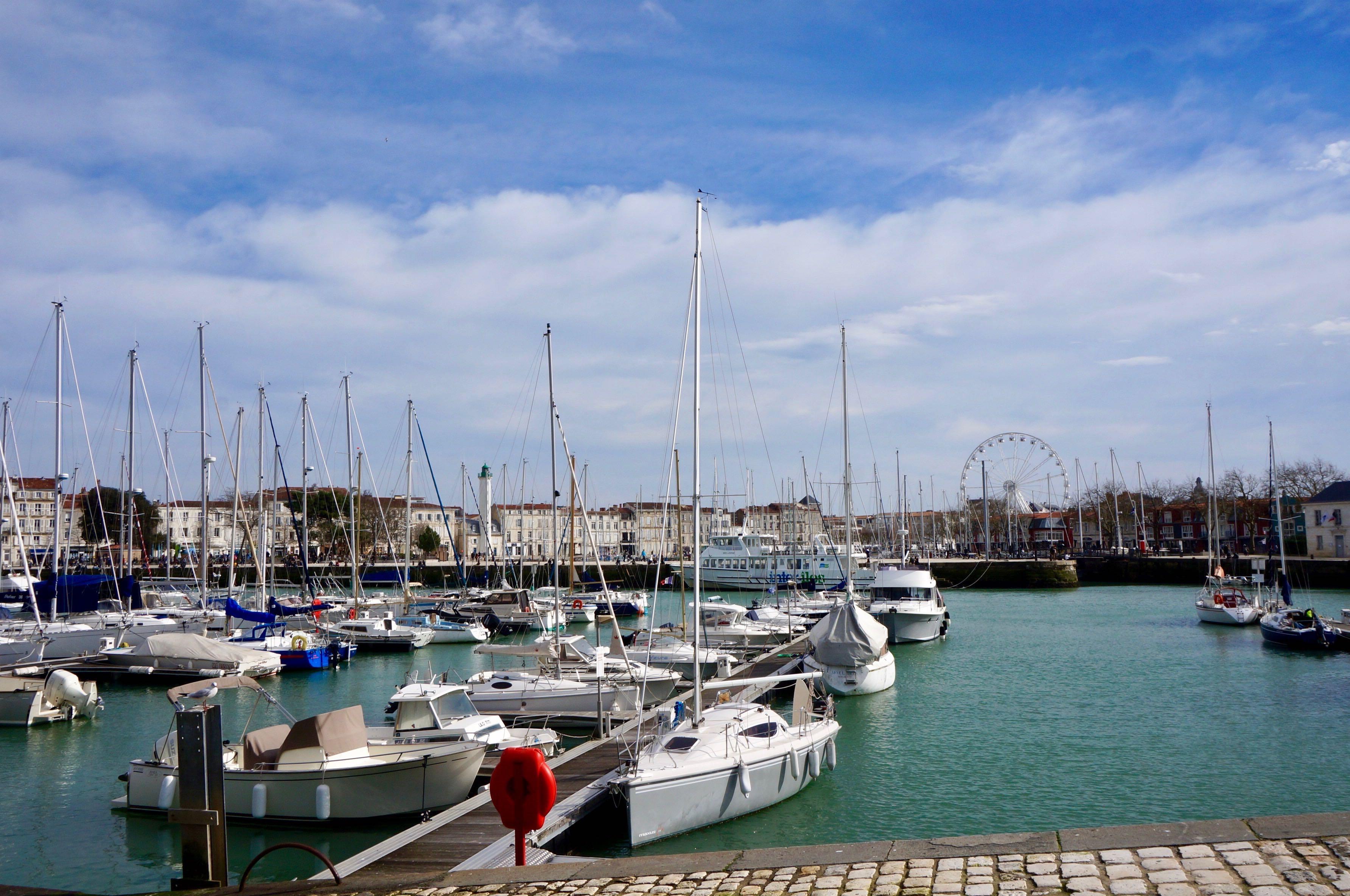 la Rochelle, port