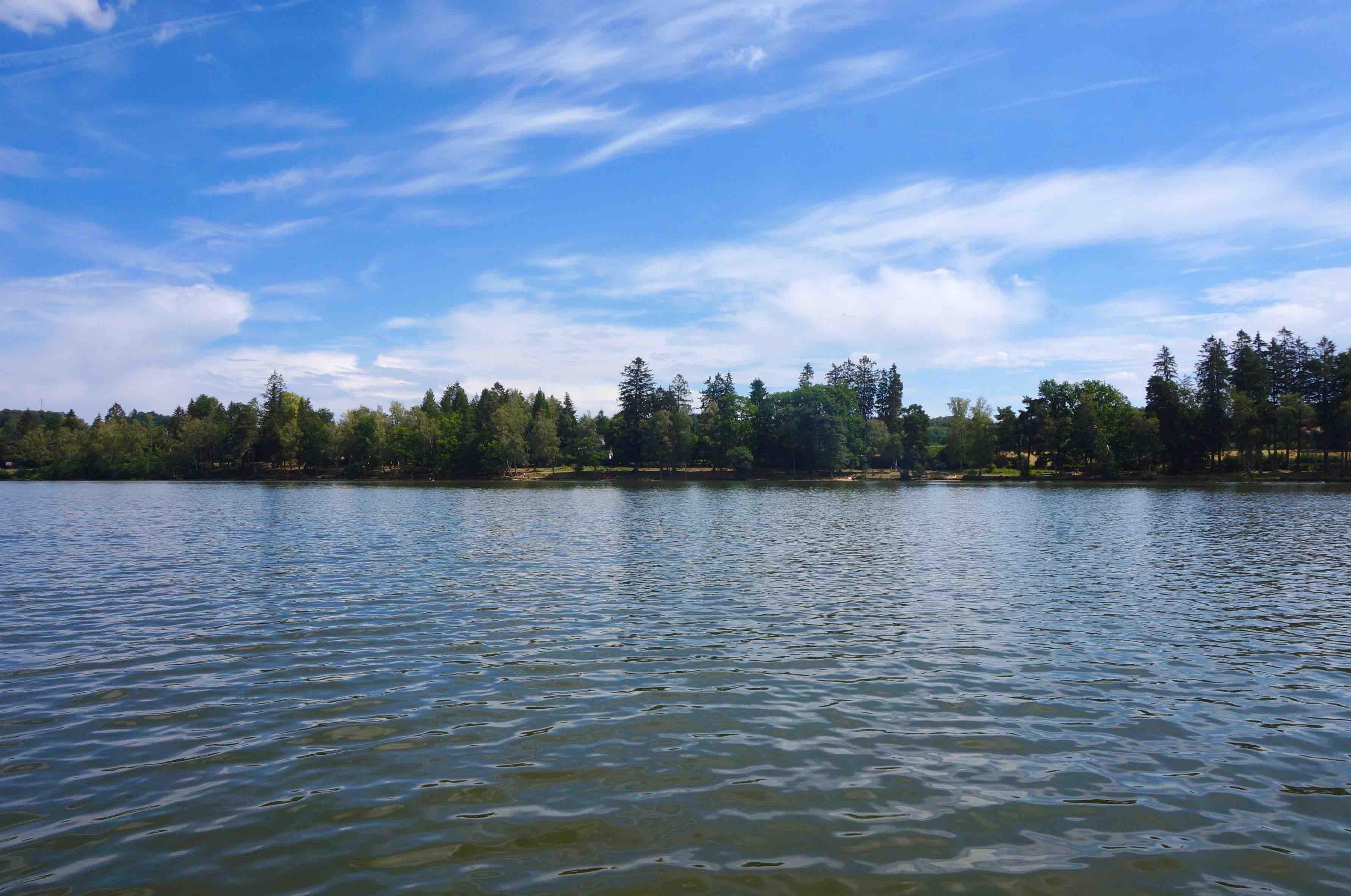 lac des settons, morvan