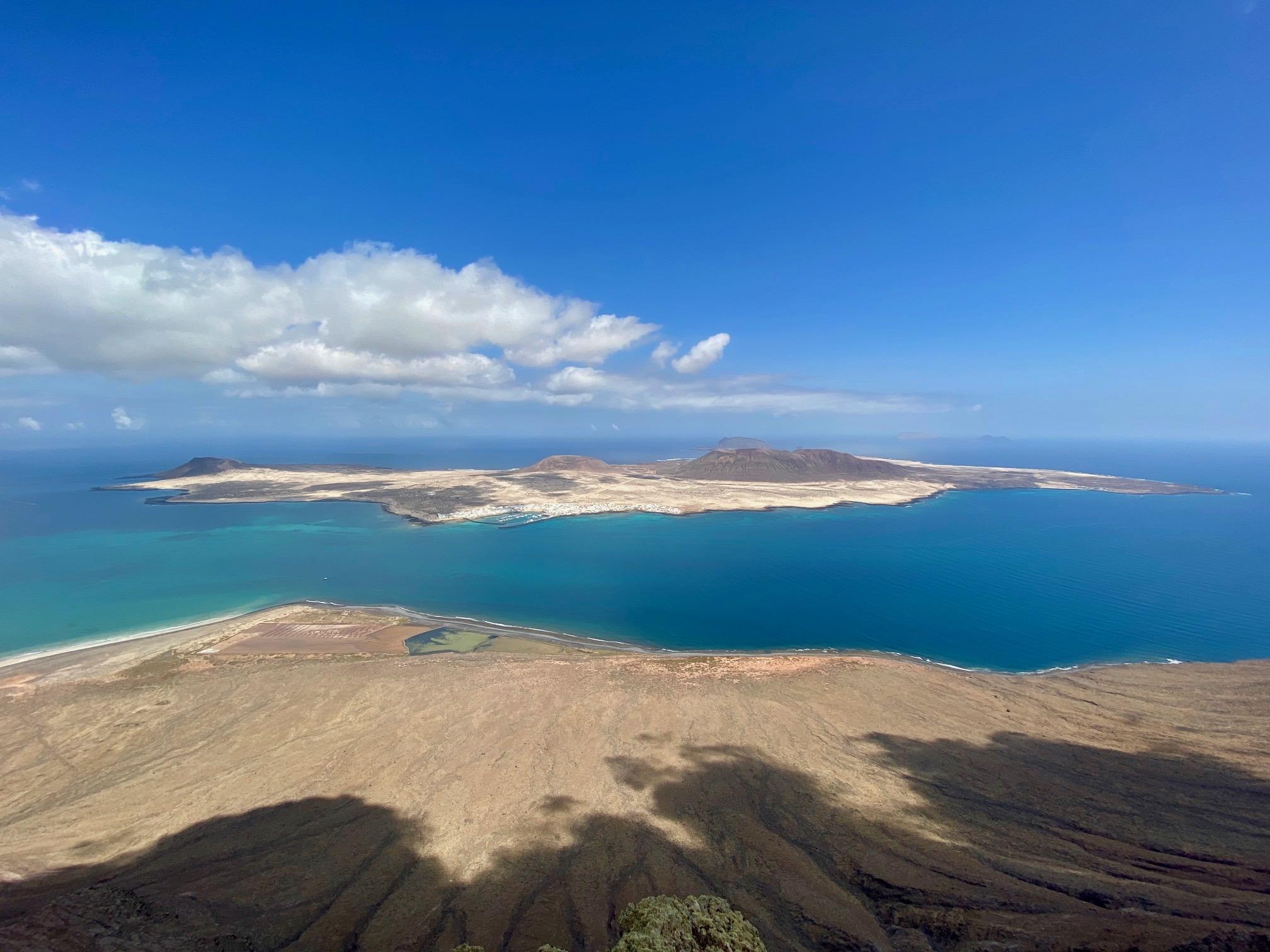 Lanzarote, mirador del rio, canaries, ile graciosa