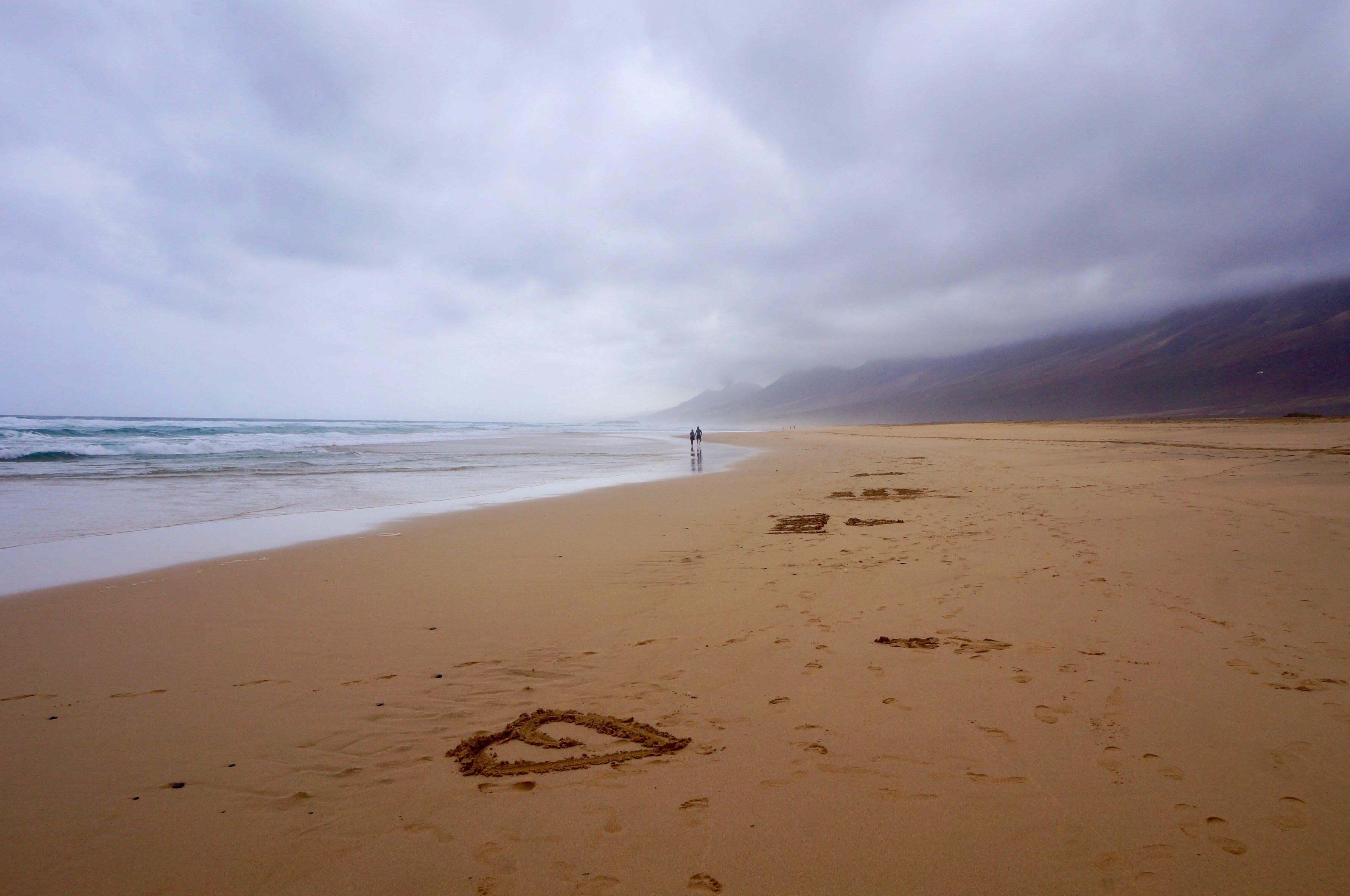 fuerteventura, canaries, plage de cofete, péninsule de jandia