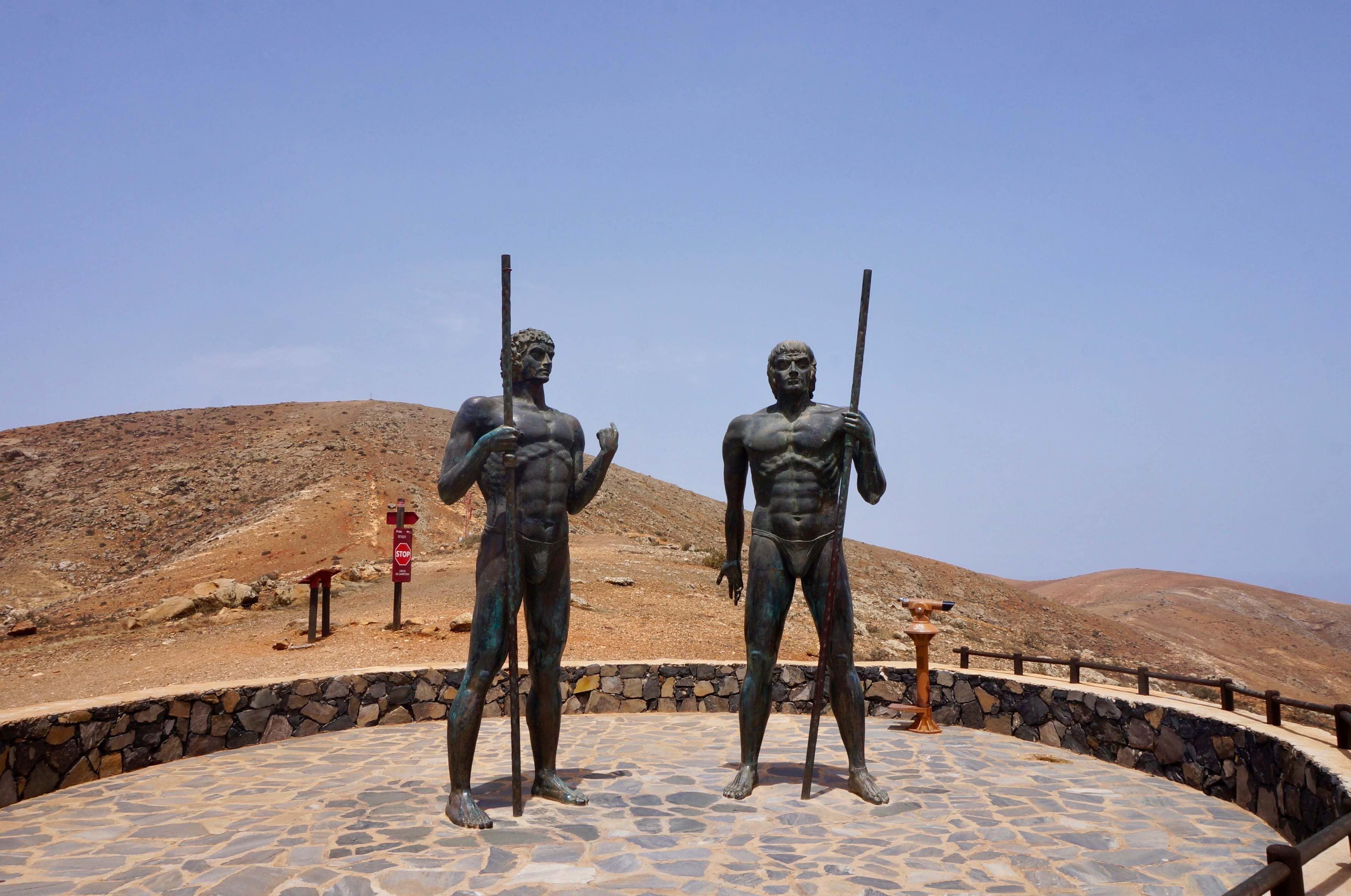 Fuerteventura, canaries, Mirador de Guise y Ayose, VF-30