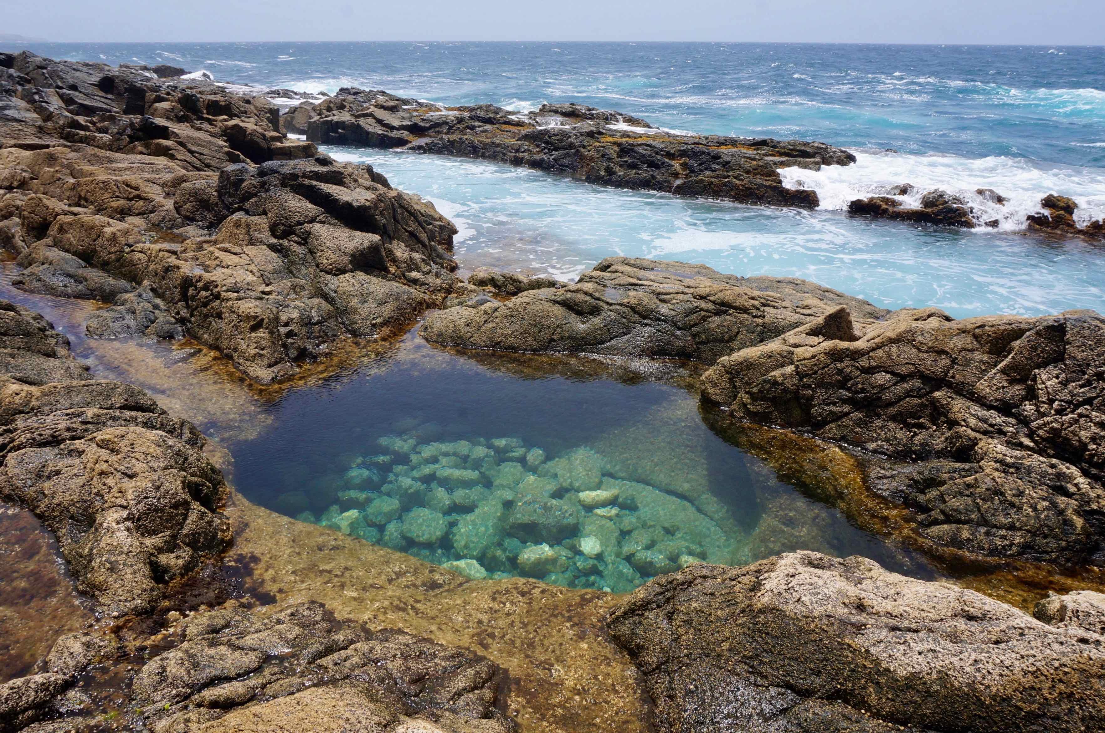 Fuerteventura, canaries, aguas verdes