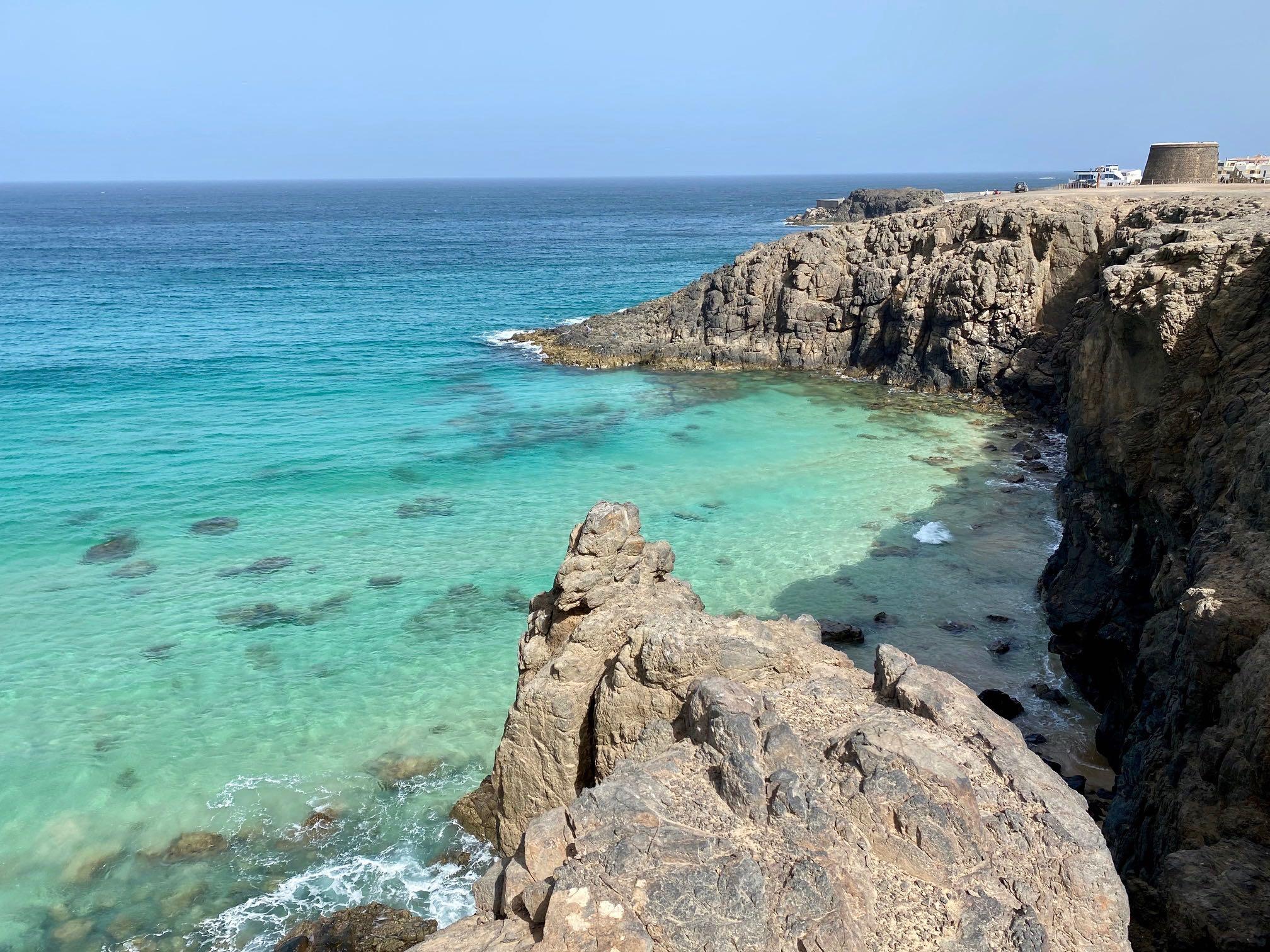 Playa del Castillo, El cotillo