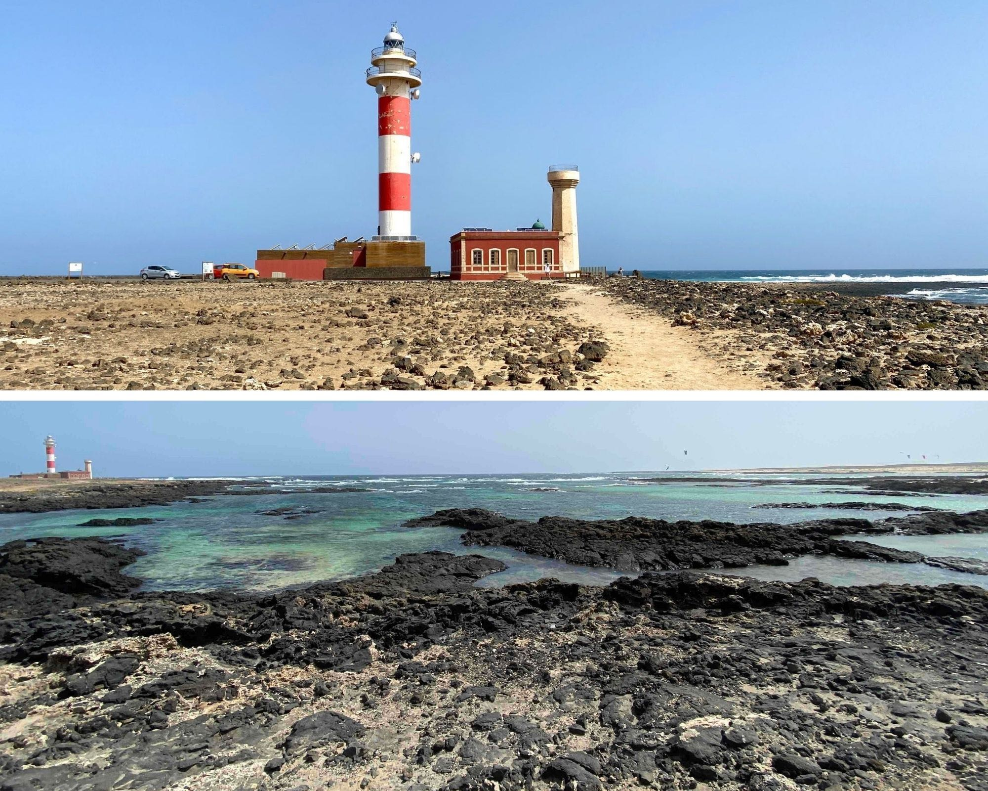 fuerteventura, canaries, phare de Tostón