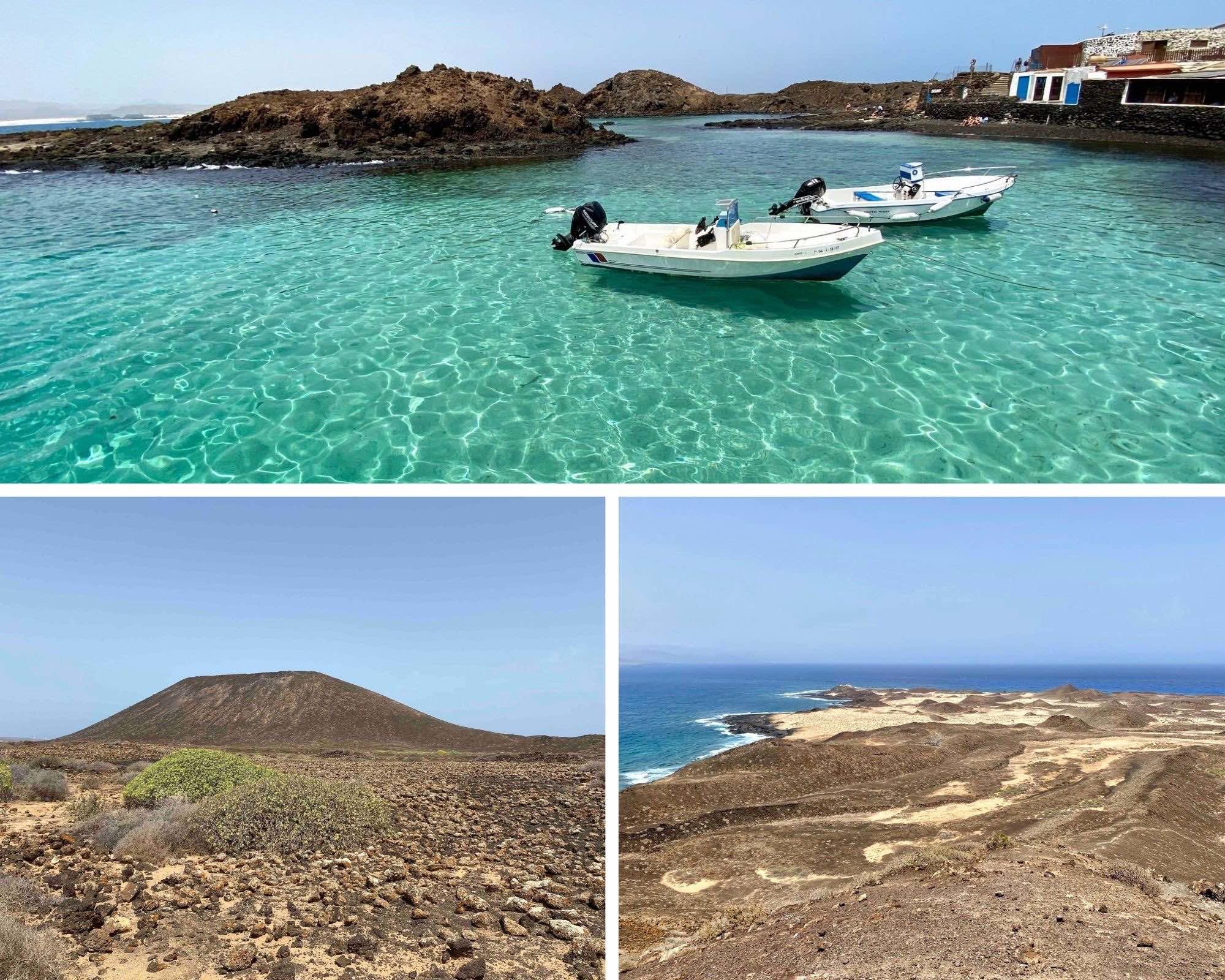 Fuerteventura, canaries, ile de lobos