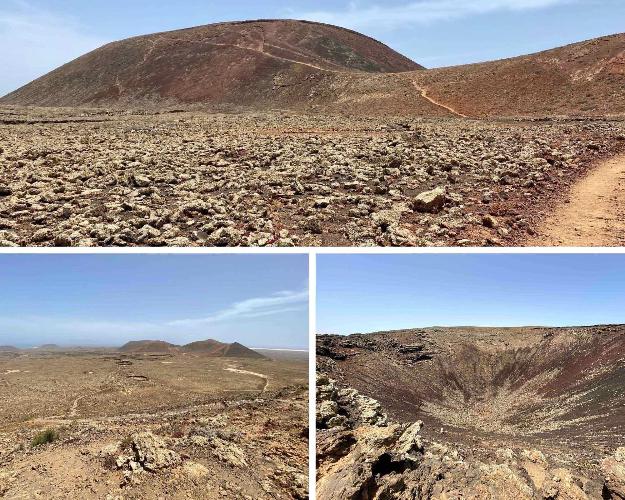 fuerteventura, canaries, volcan Calderon Hondo