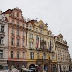 Prague et la vieille ville