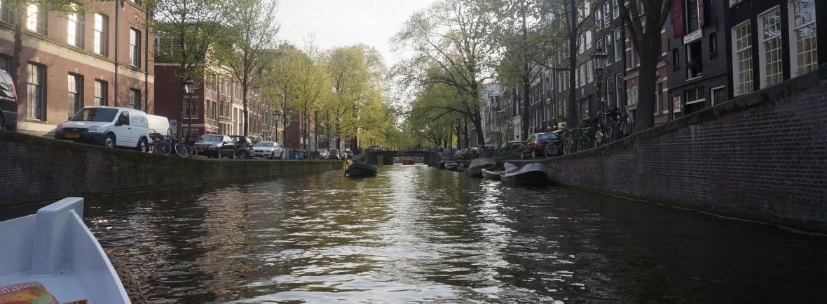 Balade en bateau Amsterdam