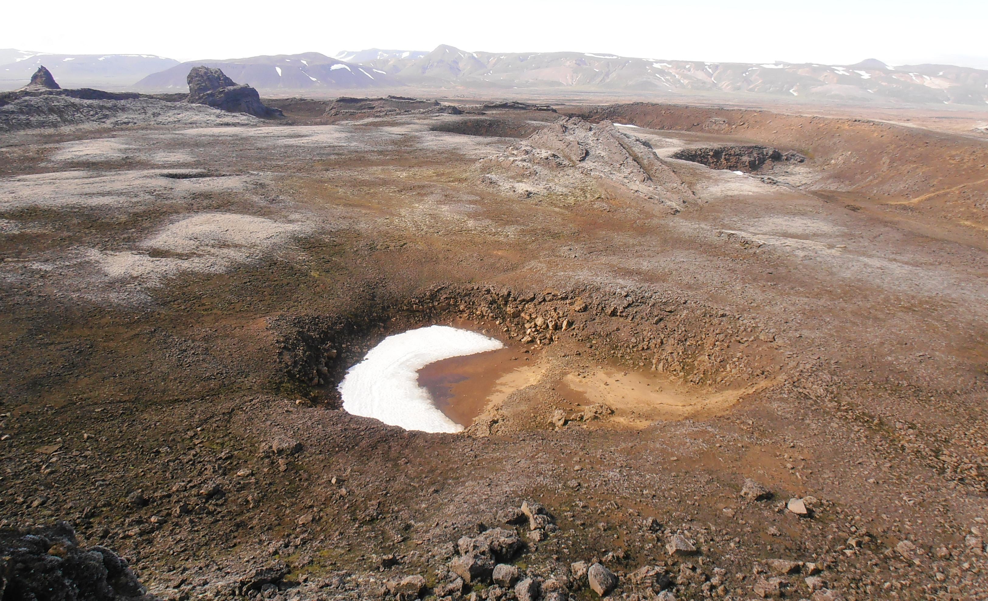 Centre De L Islande Hveravellir Jolis Circuits