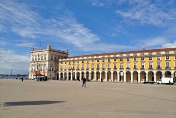 La Baixa - Lisbonne - praca do comercio