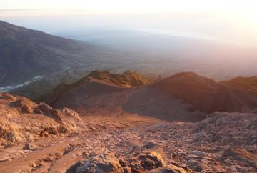 Ascension du mont merapi Java