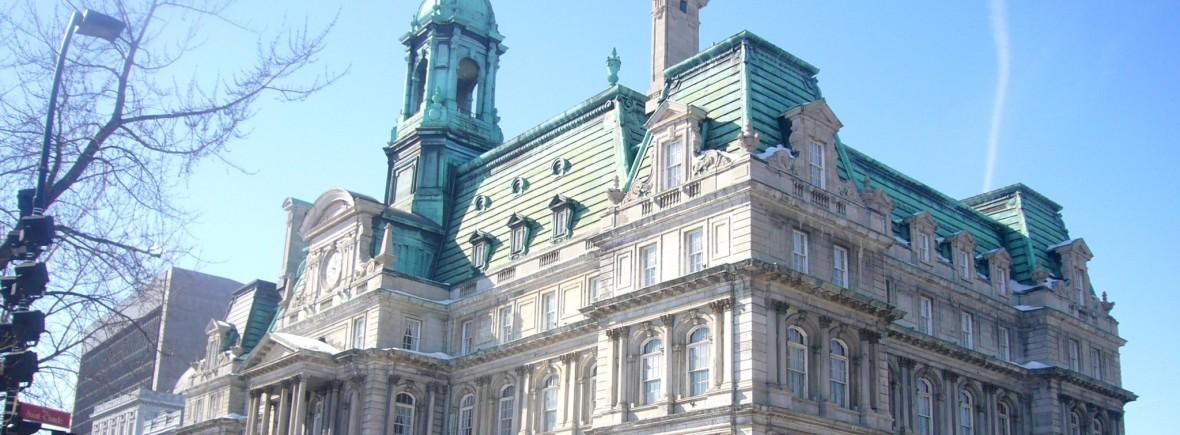 Hotel de ville Montréal