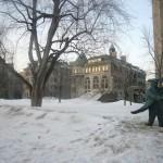 Mont-Royal et MCGill sous la neige
