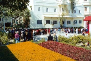 anniversaire maharana Inde Rajasthan