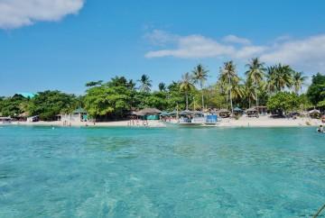 Moalboal philippines cebu white beach