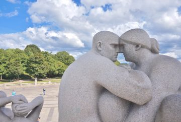 oslo statues norvège vigeland