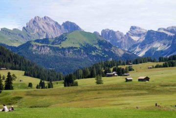 dolomites, Alpe de Siusi, italie