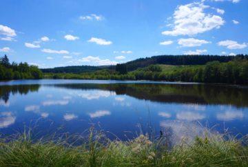 morvan, bourgogne, lac saint agnan